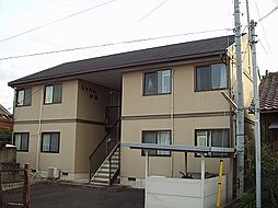 山口県山陽小野田市大字厚狭の賃貸アパートの外観