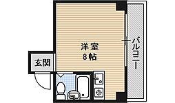 BEEHOUSE(ビーハウス)[203号室号室]の間取り