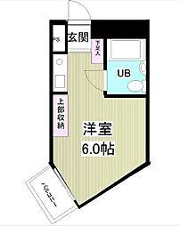 神奈川県相模原市緑区東橋本1丁目の賃貸マンションの間取り