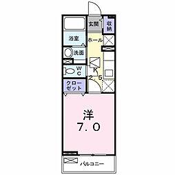 エターナルIII[1階]の間取り
