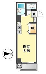ロイヤル21[2階]の間取り