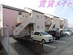 三重県伊勢市御薗町長屋の賃貸アパートの外観