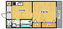 クリエイト彩[6階]の間取り