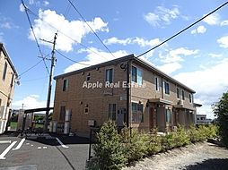 福岡県遠賀郡水巻町吉田西2の賃貸アパートの外観