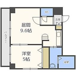CASA元町[7階]の間取り