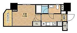 ロアール武蔵新城[8階]の間取り