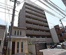 京都府京都市下京区岩上通高辻下る吉文字町の賃貸マンションの外観