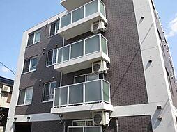 北海道札幌市中央区南八条西16丁目の賃貸マンションの外観