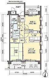 フロール横浜入江町第2[2階]の間取り