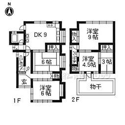 宝ヶ池駅 8.0万円