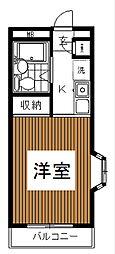 ハイツ・トーン[2階]の間取り