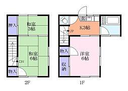 レーヨンベール実籾[2階]の間取り