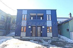 [テラスハウス] 北海道札幌市東区北三十九条東2丁目 の賃貸【/】の外観