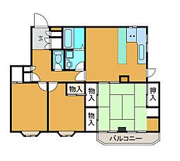 Y&Eパレス[1階]の間取り