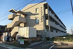 愛知県安城市弁天町の賃貸マンションの外観