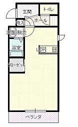 イースト1205[3階]の間取り