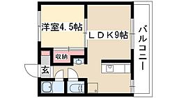 fメゾン堀田[2階]の間取り