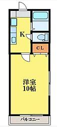 レジデンス南昭和[1階]の間取り