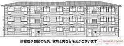福岡県糟屋郡粕屋町大字阿惠の賃貸アパートの外観