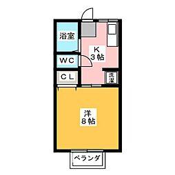 レッツサイト[2階]の間取り