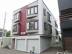 北海道札幌市東区北二十二条東12丁目の賃貸アパートの外観