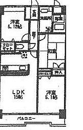 スアイナーカーウ3[104 室内NG号室]の間取り