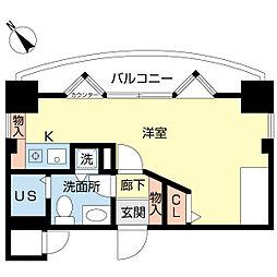 新潟ダイカンプラザ遊学館[701号室]の間取り