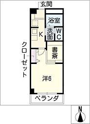 COZY PLACE星ケ丘[3階]の間取り