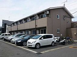 千葉県松戸市稔台8丁目の賃貸アパートの外観