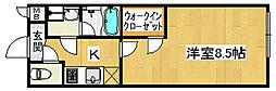 フジパレス浜寺諏訪森ノース[1階]の間取り