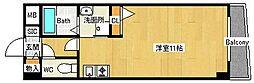 ジャルダン学研住道[5階]の間取り