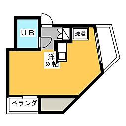 アーバン・コア新栄[3階]の間取り