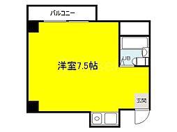 大阪府堺市堺区中安井町2丁の賃貸アパートの間取り