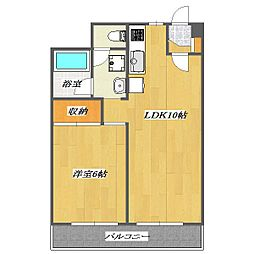 Twin Court[5階]の間取り