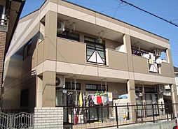 愛知県名古屋市天白区元八事3丁目の賃貸アパートの外観