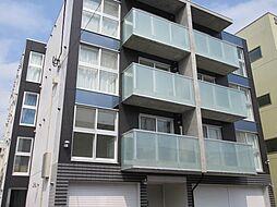 北海道札幌市北区北三十八条西4丁目の賃貸マンションの外観