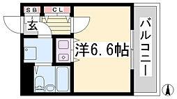朝日プラザツインテージ神戸イースト[2階]の間取り