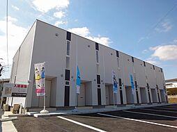 福岡県宗像市東郷6丁目の賃貸アパートの外観