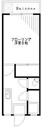 マンション丸宮[303号室]の間取り
