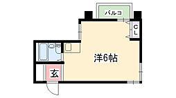 メゾンモナムール[2階]の間取り