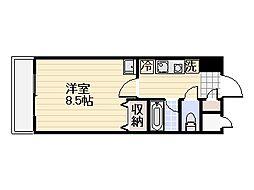 さくらマンション[604号室]の間取り