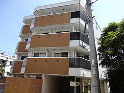 大阪府豊中市上新田1丁目の賃貸マンションの外観