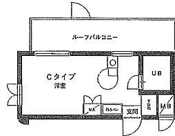 エヴェナール横浜・根岸[5階]の間取り