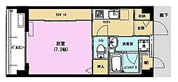東京都板橋区常盤台1丁目の賃貸マンションの間取り