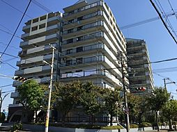 大阪府大阪市住之江区新北島2丁目の賃貸マンションの外観