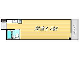 シャローム東中野[5階]の間取り