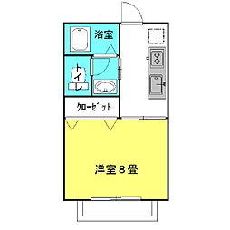 ラフォンテ・Goo[1階]の間取り