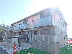 兵庫県加古川市平岡町八反田の賃貸アパートの外観