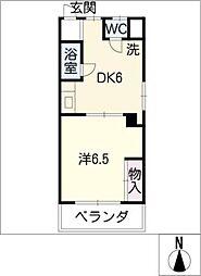 沢田ビル[2階]の間取り