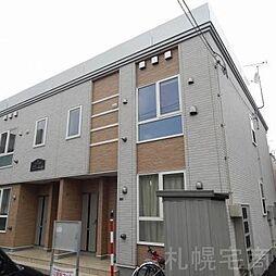 北海道札幌市東区北三十八条東4丁目の賃貸アパートの外観